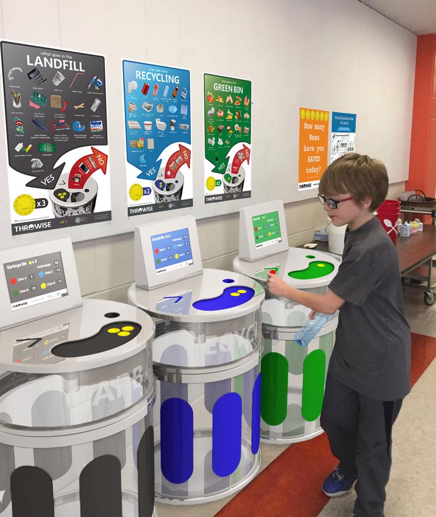 Throwise เกมทิ้งขยะสำหรับเด็กประถมในแคนาดา ปลูกฝังการแก้ปัญหาขยะล้นโลก