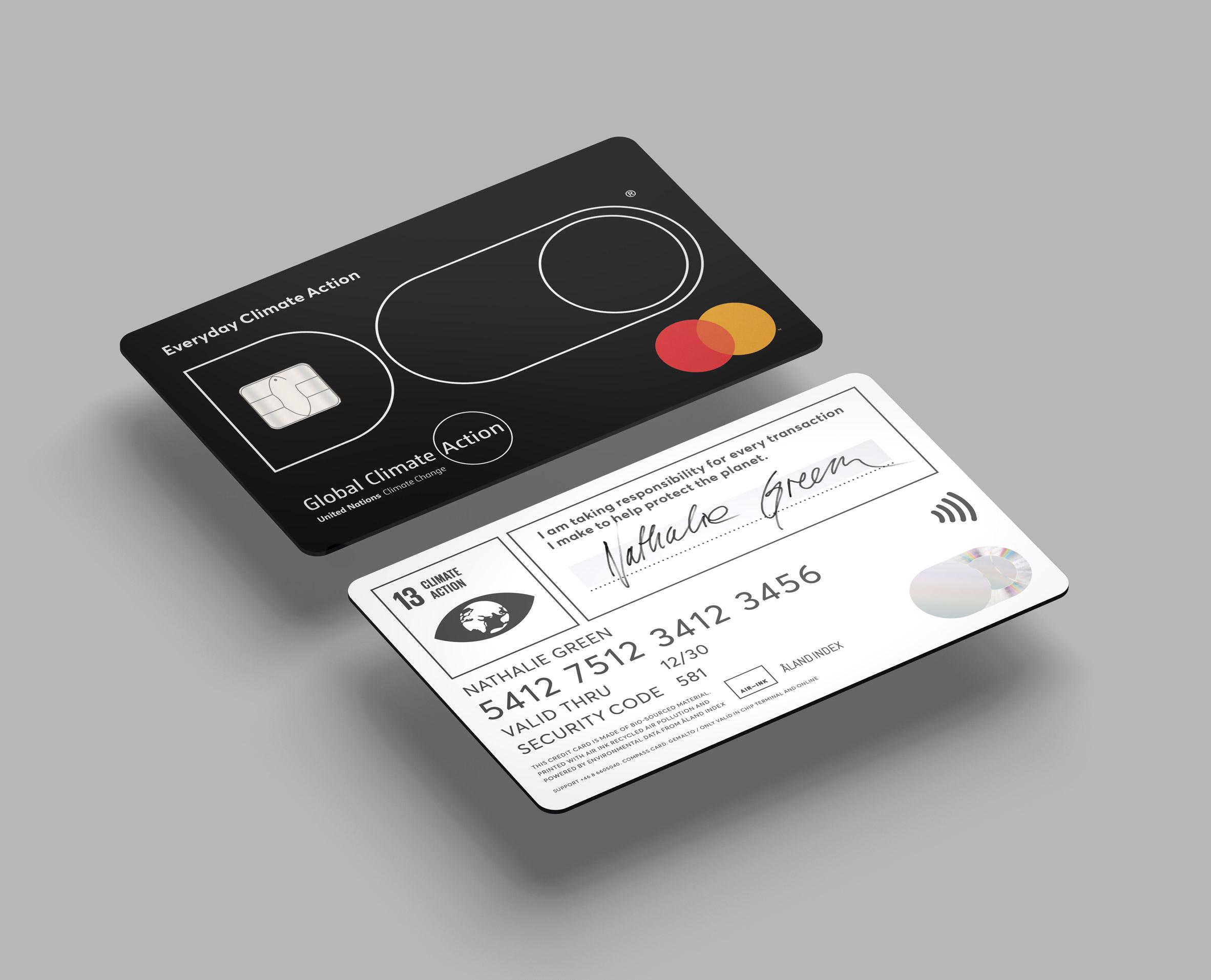 DO Black Card บัตรเครดิตเตือนสติ ลดคาร์บอนฟุตพรินท์ ลดการบริโภคฟุ่มเฟือย