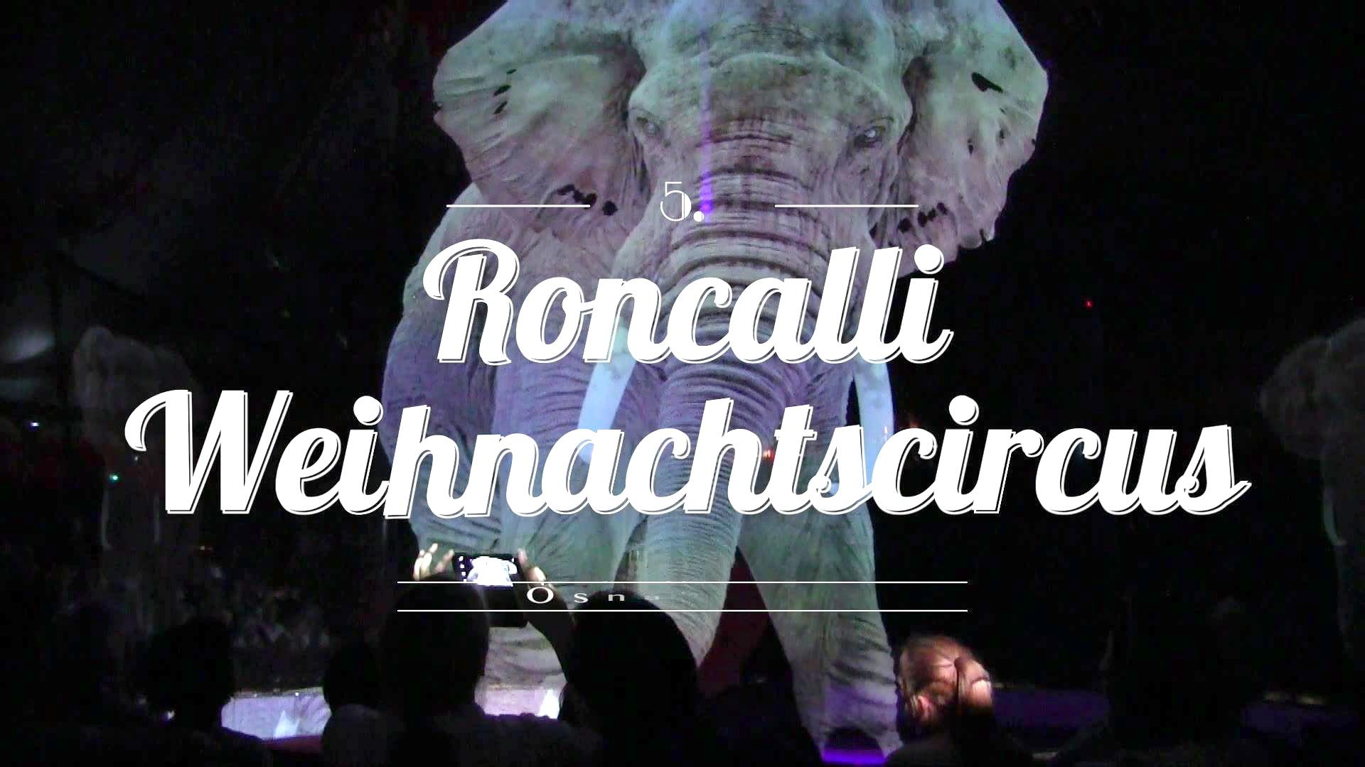 Roncalli คณะละครสัตว์ในเยอรมนี โชว์การแสดงสัตว์ด้วยเทคโนโลยีโฮโลแกรม