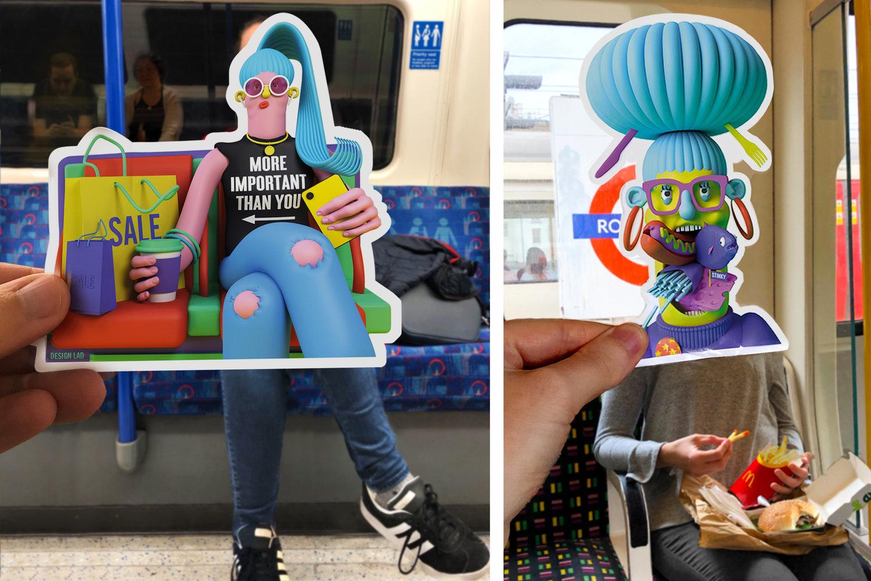 Bad Tube Etiquette เลิกเถอะนะ! พฤติกรรมฉันไม่แคร์ เพราะรถไฟฟ้าเป็นของทุกคน