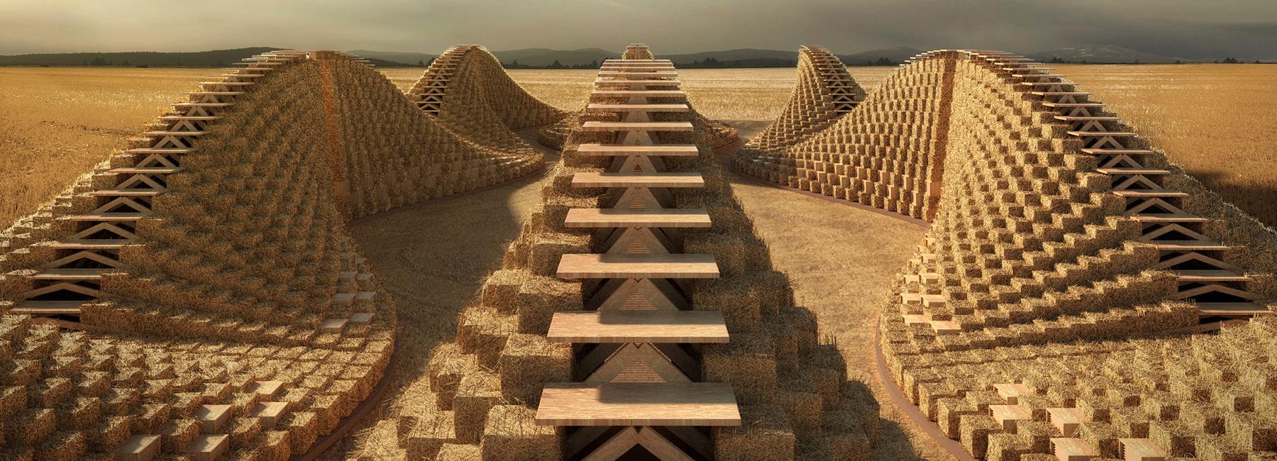 สถาปัตยกรรมจากฟาง ความงอกงามจากเนื้อหาของถิ่นที่ แทนเทคโนโลยีจากภายนอก
