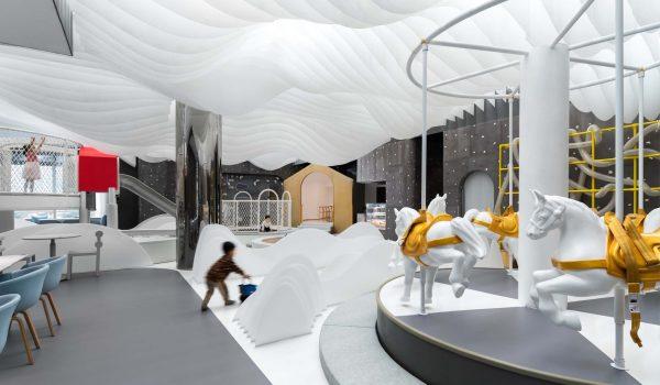 Fairyland ภัตตาคารเทพนิยายสำหรับครอบครัวแห่งแรกในต้าเหลียน ประเทศจีน