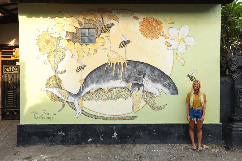 Protect What You Love, Protect Your Island กำแพงศิลป์รอบเกาะบาหลี สร้างสำนึกรักบ้านเกิด
