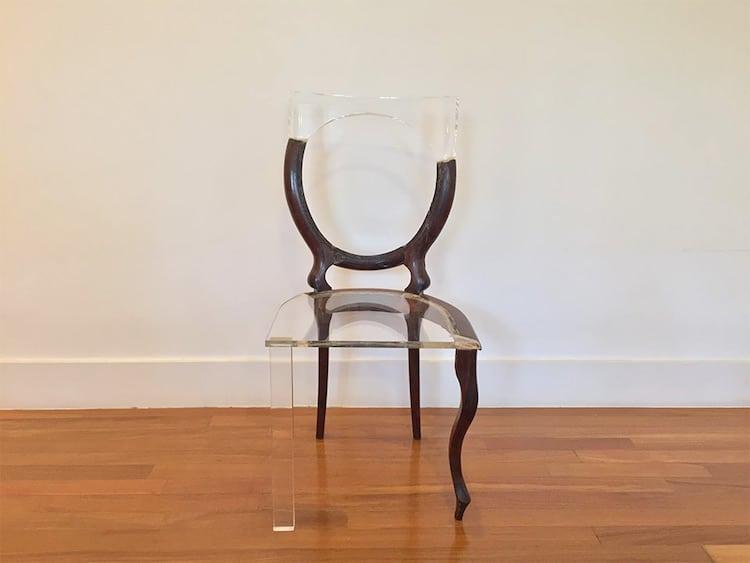 My New Old Chair เก้าอี้เก่าเล่าใหม่…สวยเก๋ด้วยอะคลิลิกใส