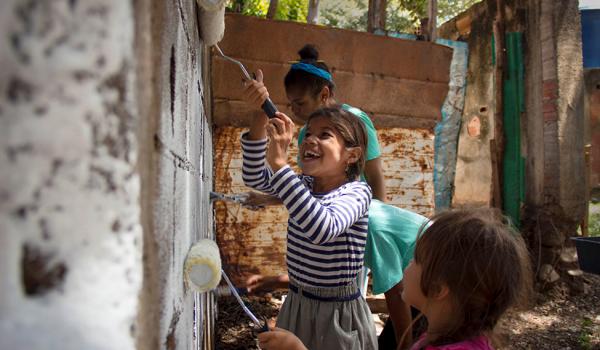 'Tracing Public Space' ให้เด็กๆ มีส่วนร่วมในการสร้างพื้นที่สาธารณะในชุมชนแออัด