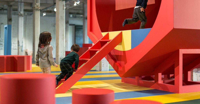 Landscape for Play เมื่อสถาปัตยกรรมเล่นได้ ลดความจริงจังลง เราพร้อมจะเล่นกันรึยัง