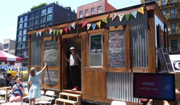 ArtBuilt Mobile สตูดิโอศิลปะเคลื่อนที่ในนิวยอร์ค ปลูกความคิดสร้างสรรค์ ส่งเสริมวัฒนธรรมให้ชุมชน