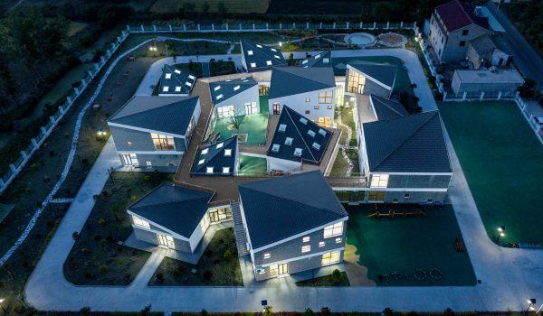 โรงเรียนอนุบาลเจียงซู เป่ยชา พื้นที่แห่งจินตนาการและการเรียนรู้