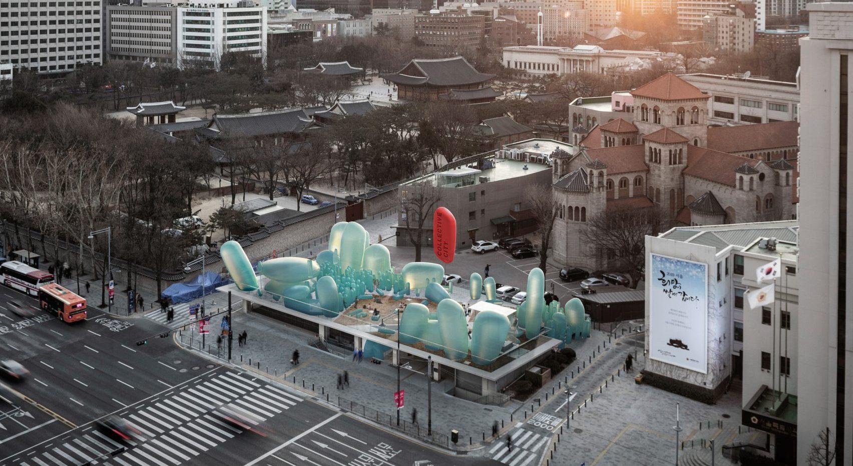 New Korean Garden สวนสวยสดใสบนดาดฟ้ากลางกรุงโซล พื้นที่สาธารณะสำหรับทุกคน