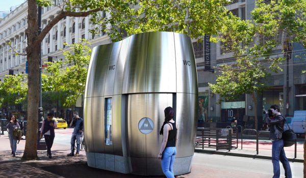 AmeniTREES ห้องน้ำสาธารณะเก๋และกรีน หลังคาปลูกต้นไม้ มีระบบกักน้ำฝนไว้ใช้ประโยชน์