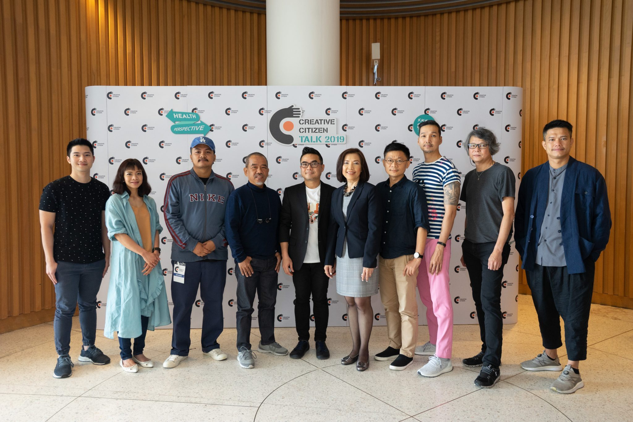 รวมพลัง 10 นักสร้างสรรค์สุขภาวะ ส่งต่อแรงบันดาลใจ ในงาน Creative Citizen Talk 2019: Health Perspective