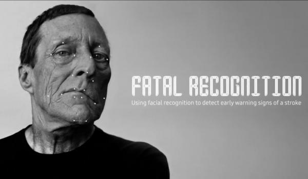 Fatal Recognition แอปพลิเคชันสแกนหน้าเบี้ยว เตือนโรคหลอดเลือดสมอง