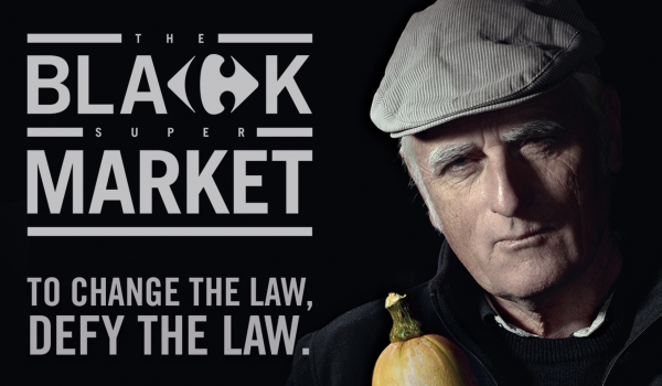 Black Supermarket คาร์ฟูร์เปิดตลาดมืดขายสินค้าจากเมล็ดพันธุ์เกษตรอินทรีย์ต้านการผูกขาดพืชผล