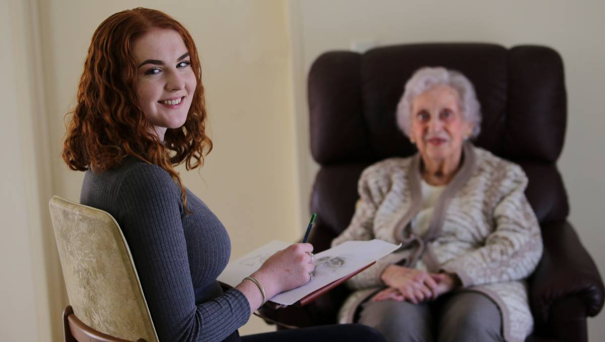 The Centenarian Portrait โปรเจ็กต์วาดภาพเหมือนให้ผู้สูงวัย ลดความเหงา ลดช่องว่าง สร้างสังคมให้อบอุ่น