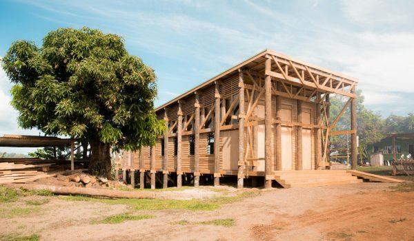 Naidi Community Hall ศาลาประชาคมนาอิดิ ประเทศฟิจิ แหล่งรวมกิจกรรมของคนในชุมชน