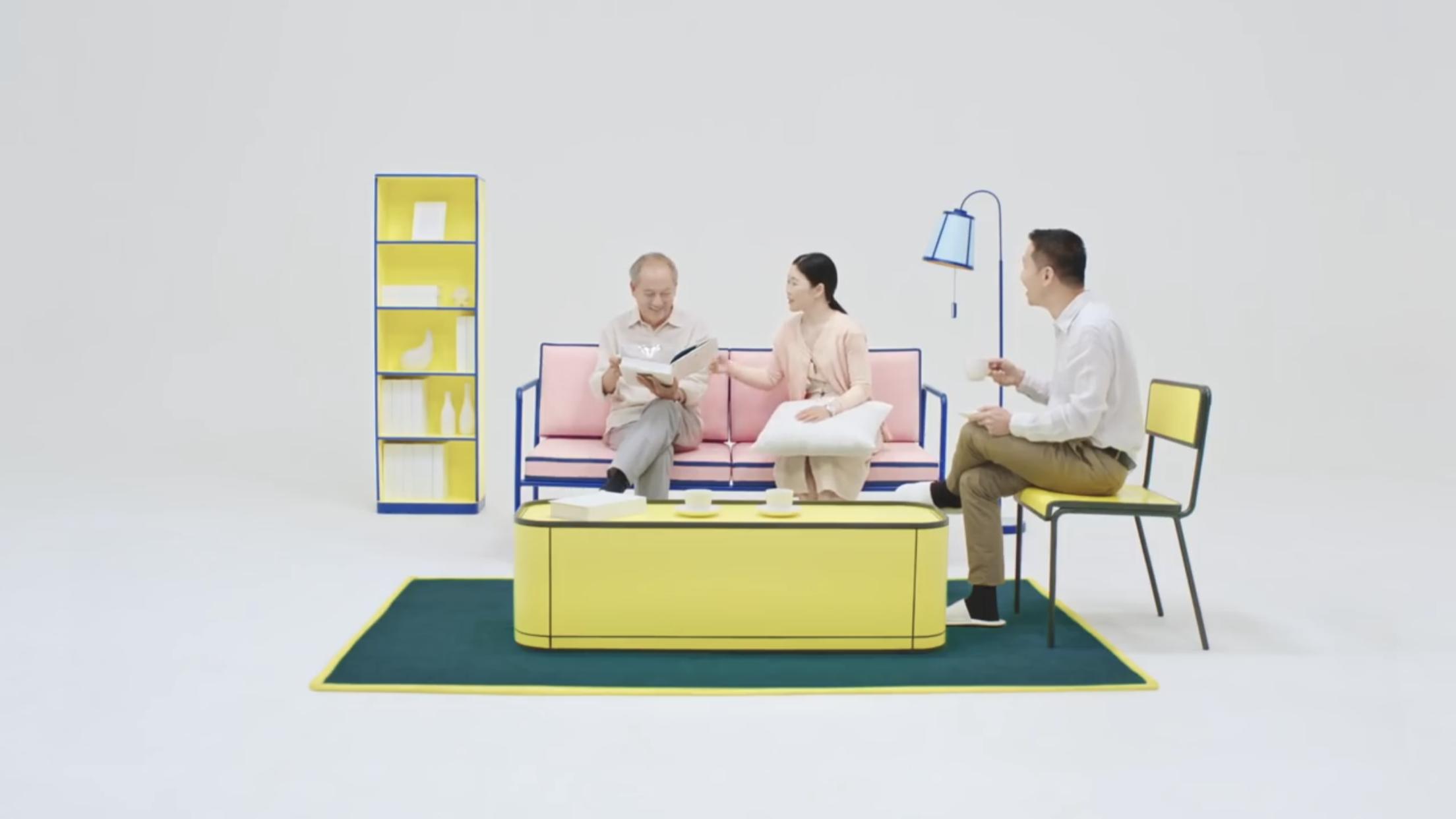 7:1 Furniture เฟอร์นิเจอร์คอลเล็กชั่นแรกจากโฮมโปร เพื่อผู้มีความผิดปกติทางสายตา