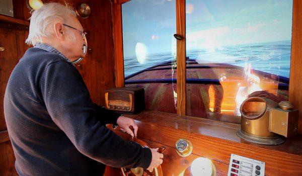 ประติมากรรมเรือ Quo Vadis ชวนคุณตาคุณยายล่องเรือทบทวนอดีตแก้อาการสมองเสื่อม