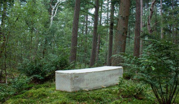 'Living Coffin' โลงศพมีชีวิตผลิตจากเห็ดราซึ่งย่อยสลายได้และช่วยให้ต้นไม้เติบโต