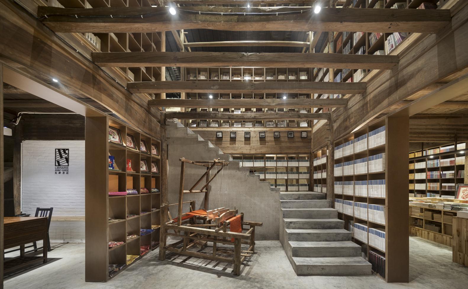 Ruralation Library ศัลยกรรมบ้านดินเก่าให้มีวิญญาณใหม่เป็นห้องสมุดในหมู่บ้านไต๋เจียซาน ประเทศจีน