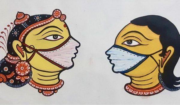 Dastkar ชวนเหล่าศิลปินพื้นบ้านชาวอินเดียอัญเชิญเทพเจ้าบอกเล่าวิธีป้องกันภัยจากโควิด-19