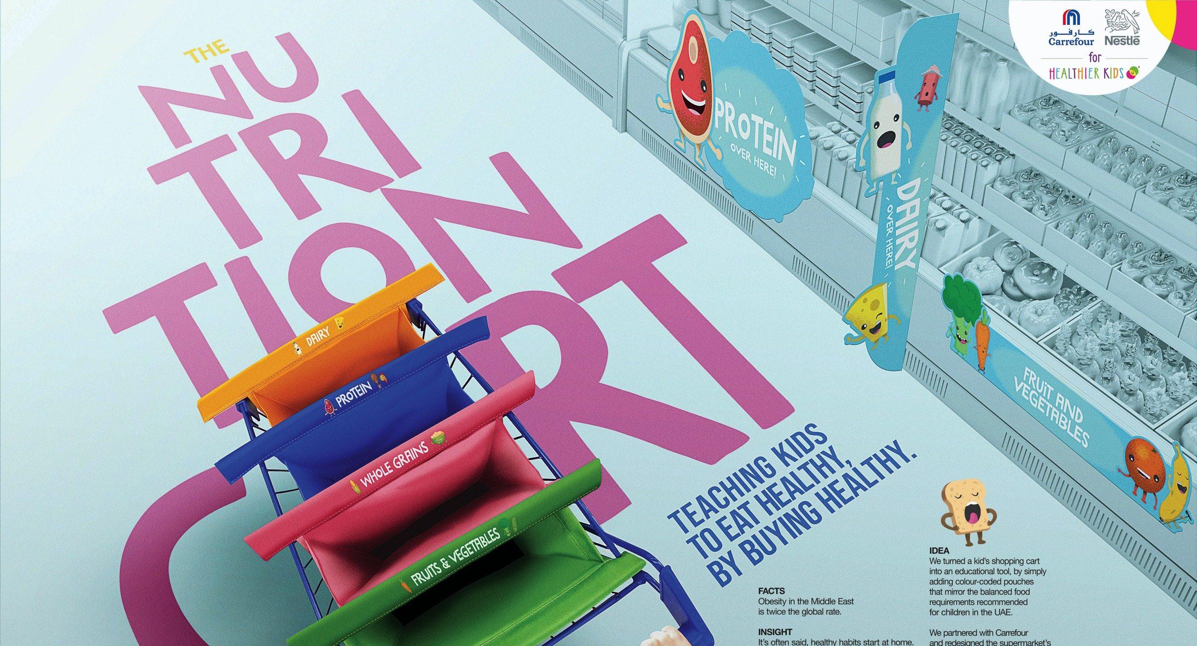 Nestlé for Healthier Kids เปลี่ยนรถเข็นซูเปอร์มาร์เก็ตสำหรับเด็กเป็นรถเรียนรู้โภชนาการทางอาหารแสนสนุก