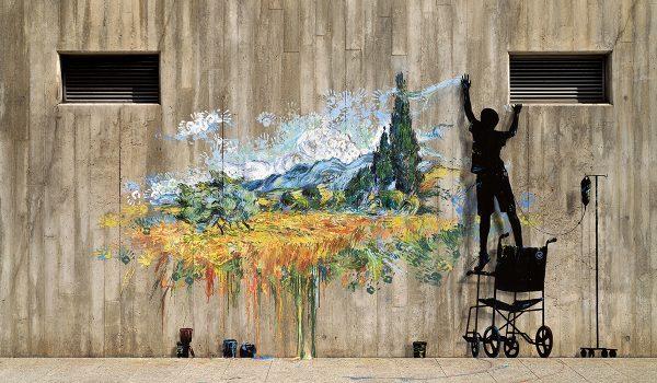 The Strength โปรเจ็กต์ให้กำลังใจเจ้าหน้าที่และไว้อาลัยแด่ผู้จากไปด้วยโควิด-19 โดยศิลปิน Pejac