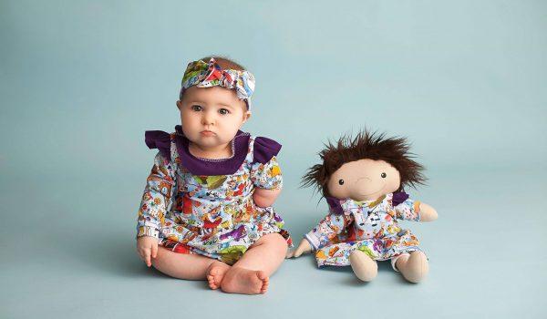 ตุ๊กตาทำมือ A Doll Like Me ตัวแทนของเด็กน้อย เพื่อนตัวจ้อยที่คอยมอบความรักและกำลังใจให้เด็กๆ