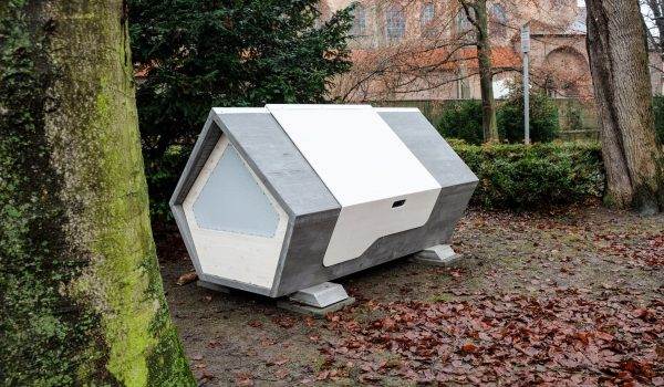 Ulmer Nest ที่พักชั่วคราวของคนไร้บ้านในเยอรมนี จุได้ 2 คน+สัตว์เลี้ยง ไม่ต้องยื่นเอกสาร ที่ไหนว่างก็เข้าพักได้เลย