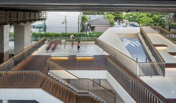 Roof Square พื้นที่สันทนาการใต้ทางด่วน สถาปัตยกรรมคำตอบใหม่ช่วยฟื้นฟูความสัมพันธ์ชุมชน