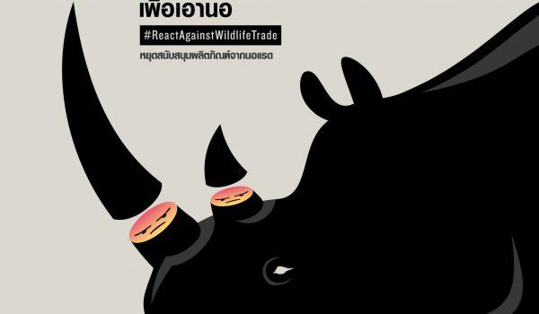 WildAid Thailand รณรงค์หยุดยั้งและต่อต้านการค้าสัตว์ป่าผิดกฎหมายทุกรูปแบบ