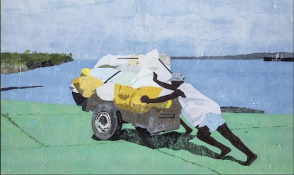 ศิลปิน Hugo McCloud พูดเรื่อง 'ชนชั้น' อย่างแหลมคมผ่านพลาสติกเหลือใช้