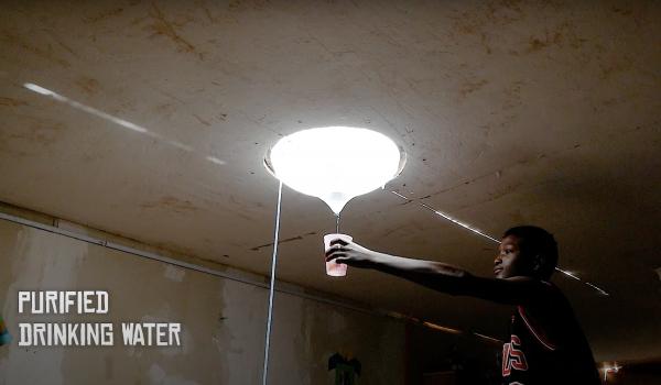 Resource Revolution โคมไฟส่องสว่างกลางวัน-กลางคืน และผลิตน้ำจืดจากน้ำทะเลให้ใช้ดื่มกิน