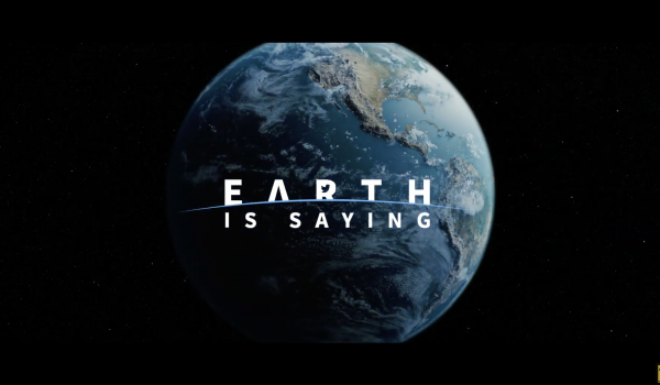 กรีนพีซชวนฟอลโลว์ @earthissaying แอ็กเคานต์ทวิตเตอร์ของโลก ทวีตเมื่อไหร่โลกสะเทือนเมื่อนั้น
